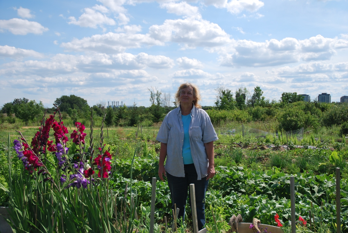 Meet Organic Farmer - KATE HAMILTON