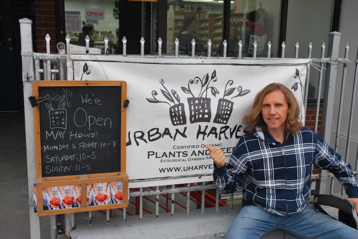 Visiting Urban Harvest, The Local Organic Seed Company
